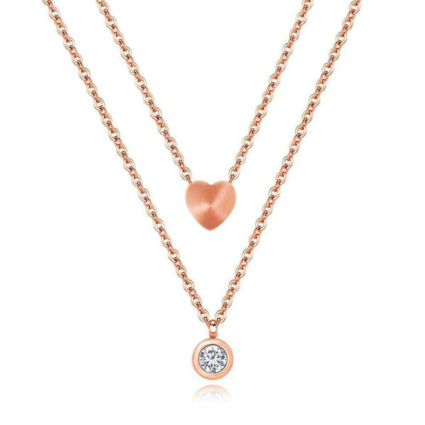 Sweetheart Me Elite Layered Necklace
