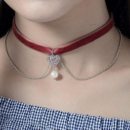 The Vibrant Diva Layered Choker-Blinglane