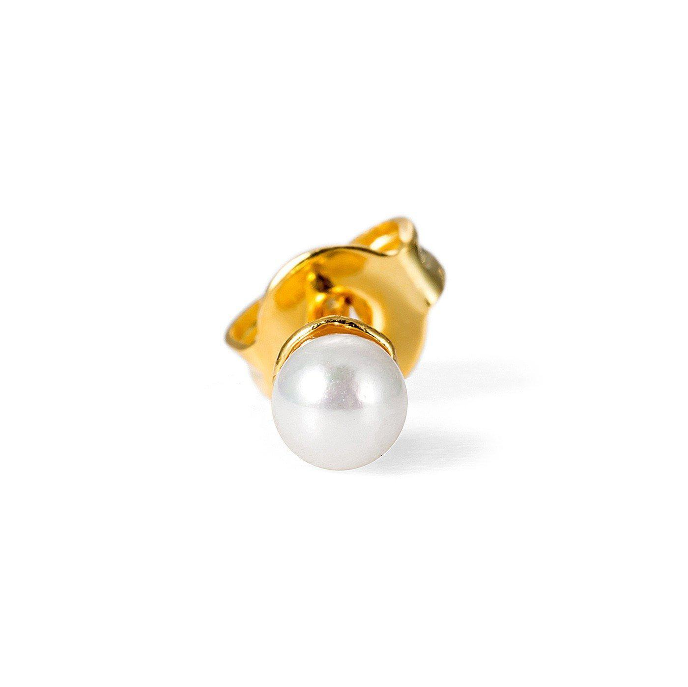 Tiny Pearl Charm Nose Pin-Blinglane