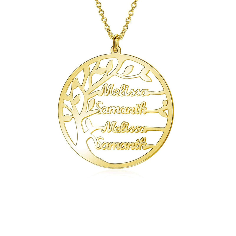 Personalize Your Tree of Life Fashion Necklace