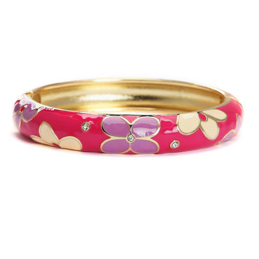 Very Berry Metallic Fashion Bangle-Blinglane