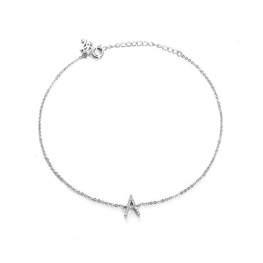 Your Initial A Anklet-Blinglane