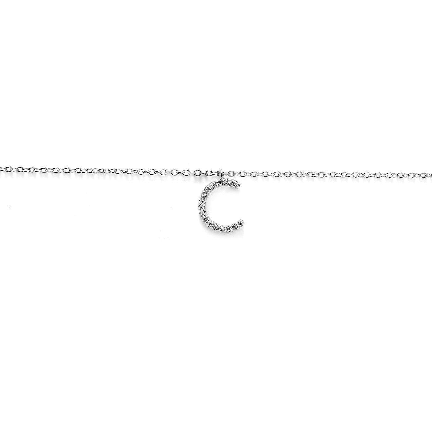 Your Initial C Necklace-Blinglane