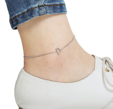 Your Initial D Anklet-Blinglane