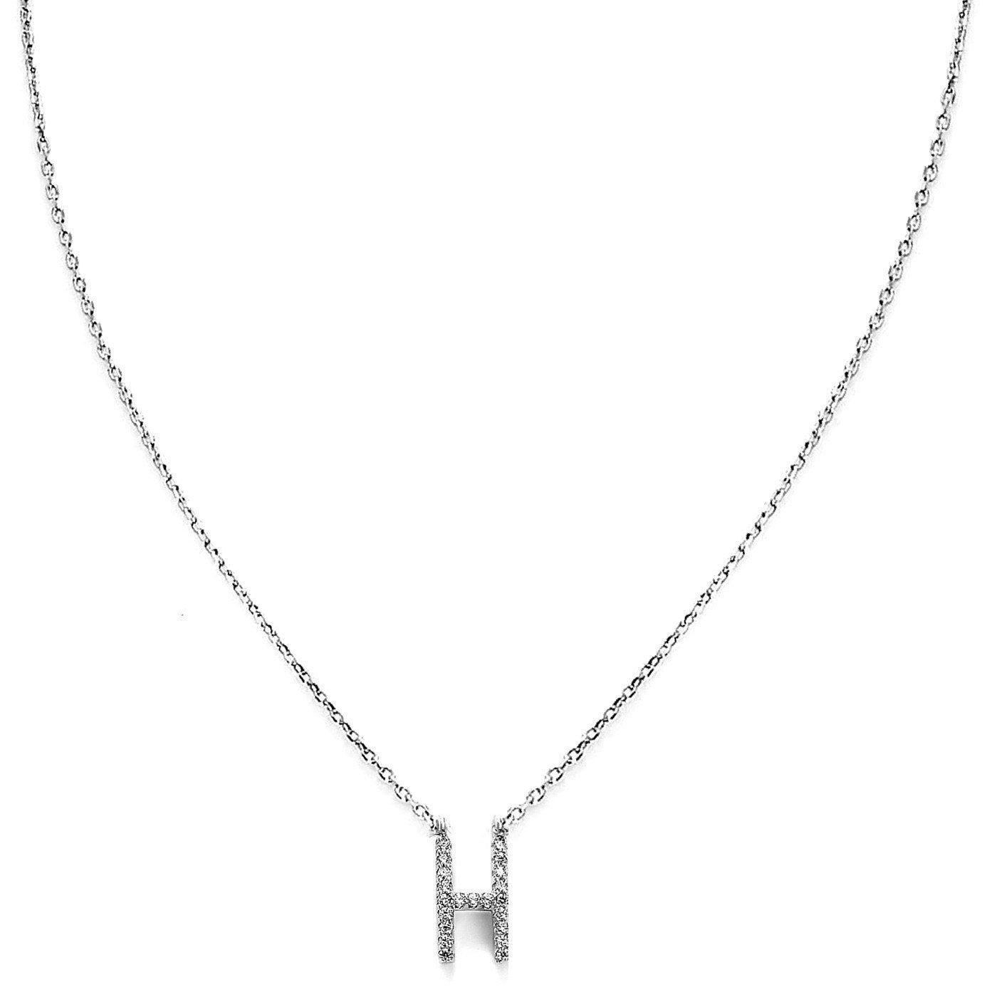 Your Initial H Necklace-Blinglane