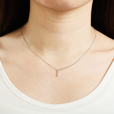 Your Initial I Necklace-Blinglane