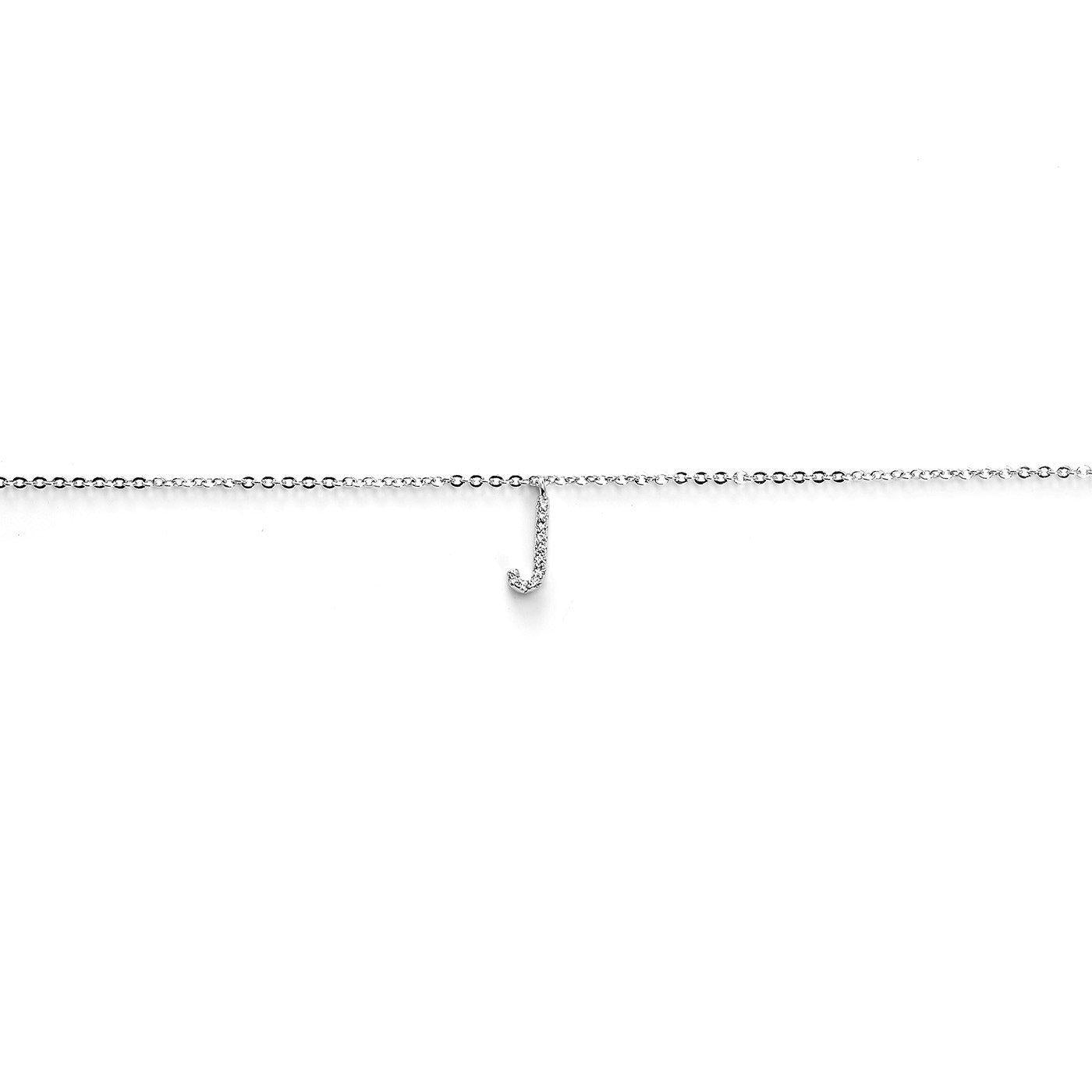 Your Initial J Anklet-Blinglane