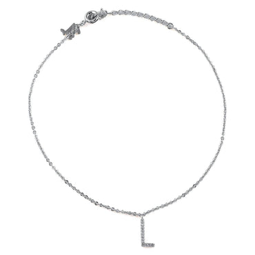 Your Initial L Anklet-Blinglane