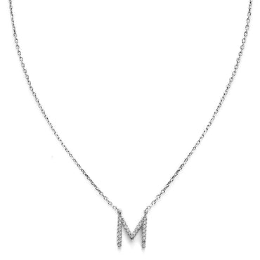 Your Initial M Necklace-Blinglane