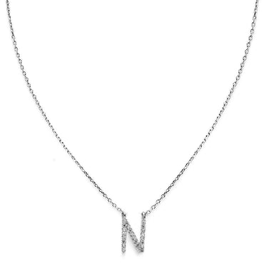 Your Initial N Necklace-Blinglane