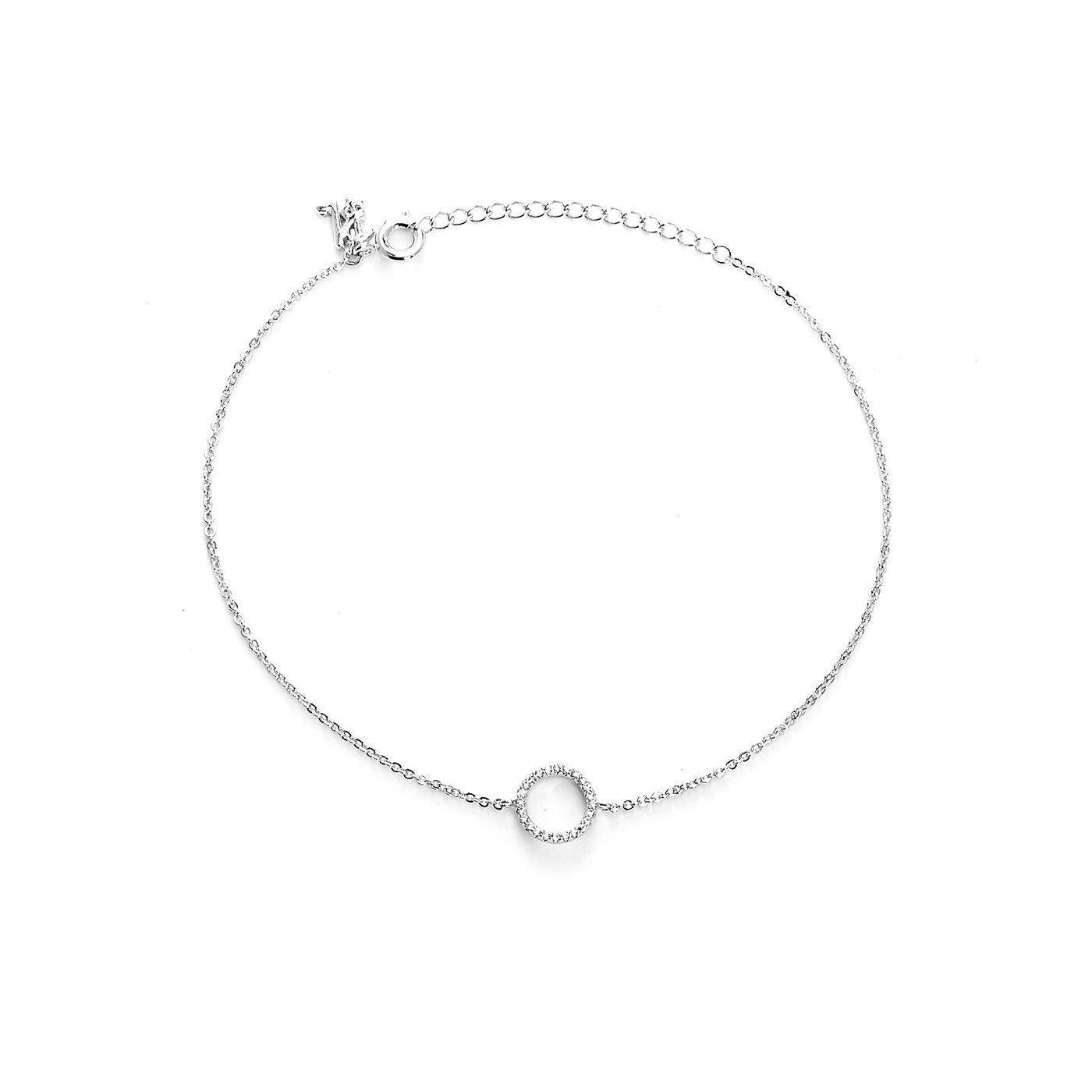 Your Initial O Anklet-Blinglane