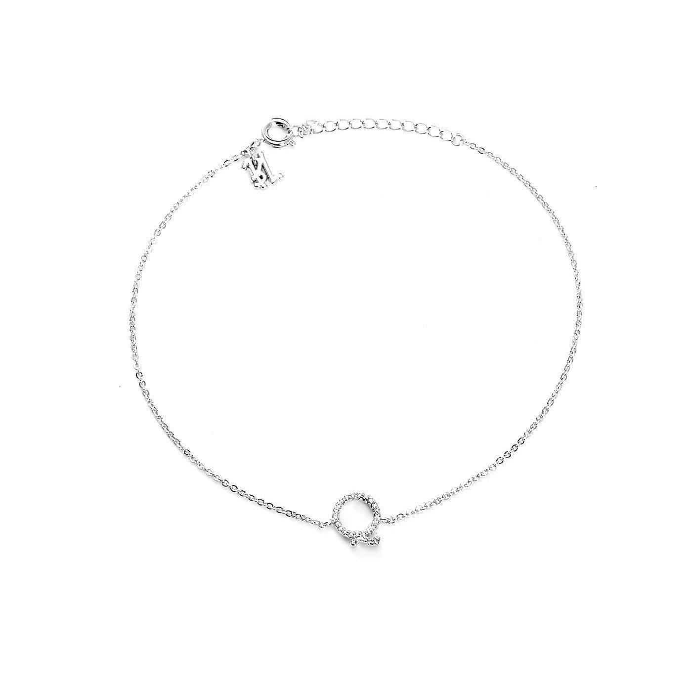 Your Initial Q Anklet-Blinglane