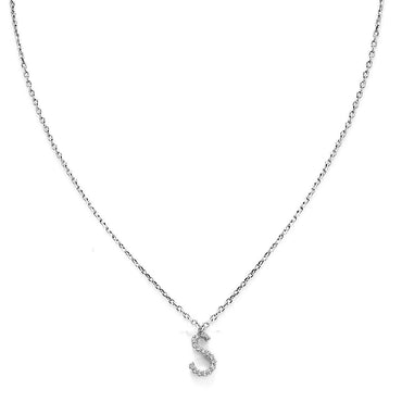 Your Initial S Necklace-Blinglane