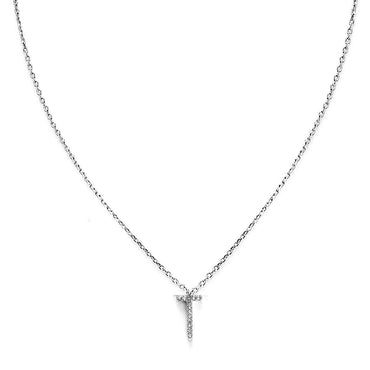 Your Initial T Necklace-Blinglane