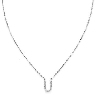 Your Initial U Necklace-Blinglane