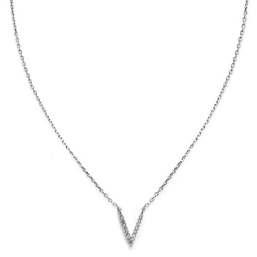 Your Initial V Necklace-Blinglane