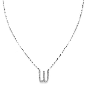 Your Initial W Necklace-Blinglane