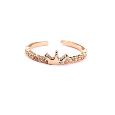 Your Princess Rose Gold Plated Ring-Blinglane