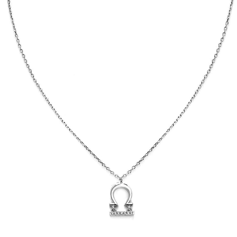 Zodiac Libra Necklace-Blinglane