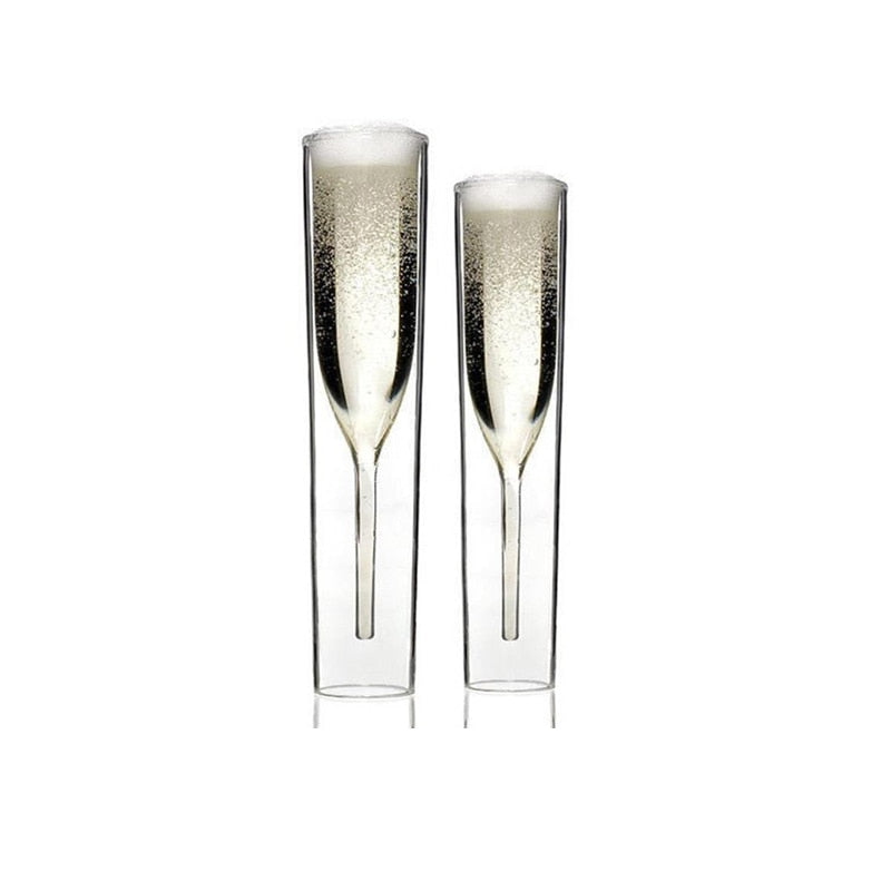 Aquamarine Luxury Flutes