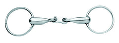 Korsteel Hollow Mouth Loose Ring French Link Snaffle