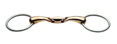 JP Korsteel Oval Link Copper Mouth Loose Ring