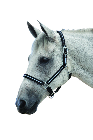 Roma Horse Headcollar with reflective lining