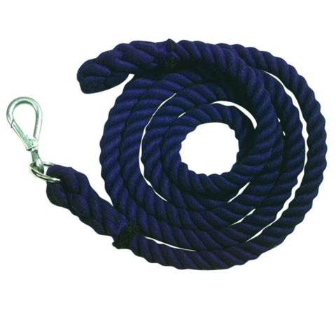 Roma Cotton Lead Rope - Walsall Clip