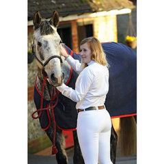 Dublin Supa Embrace Performance Full Seat Breeches white