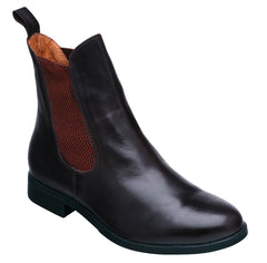 Harry Hall Silvio Ladies Jodhpur Boots BWN