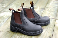 Mountain Horse Protective Jodhpur Boots brown