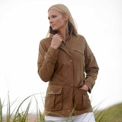 Toggi Luella Ladies Semi Fitted Wax Jacket