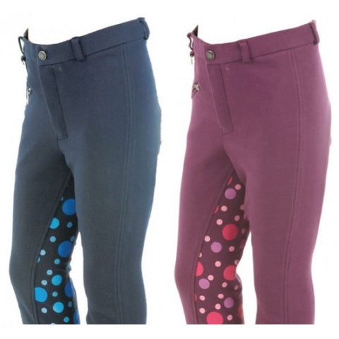 Dublin Kids Spotty Jodhpurs