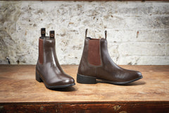 dublin elevation jodhpur boots brown