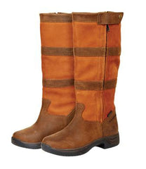 dublin brown zip river boots