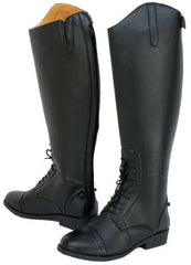 Saxon Equileather Laced Tall Boots
