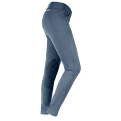 Horze Grand Prix Women's Extend Leather Knee Patch Breeches grey