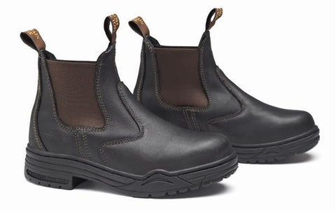 Mountain Horse Protective Junior Jodhpur Boots