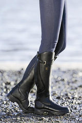 black snowy river boots