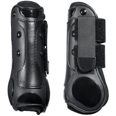 roma open front boots magnetic