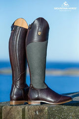 mountain horse Serengeti long leather boots