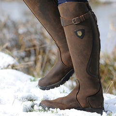 cheap snowy rider mountain horse boots