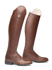 tall brown high riders size 5