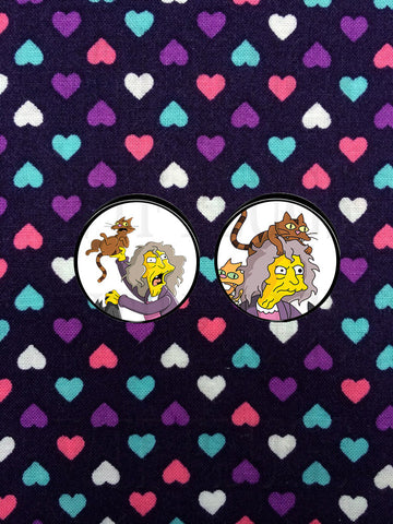The Simpsons Cat Lady Plugs