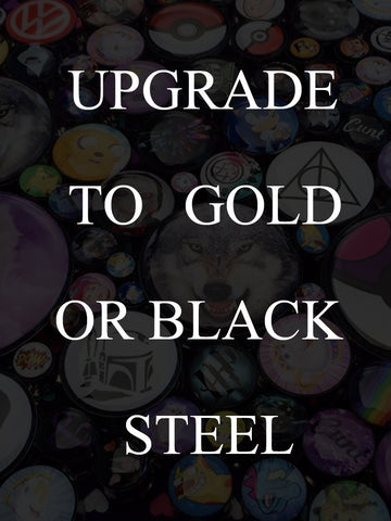 Upgrade Your Plugs To Black OR Gold Steel