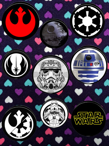 Star Wars Symbol Plugs