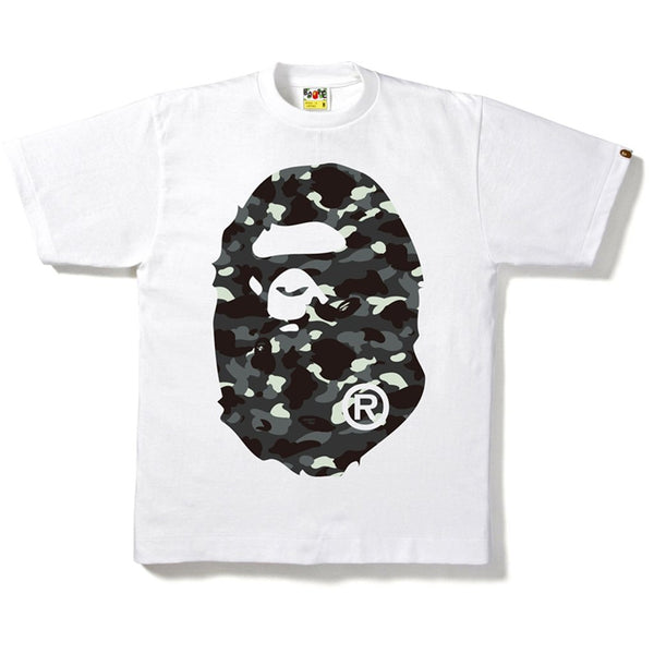 BAPE - A Bathing Ape City Camo Ape Head Tee