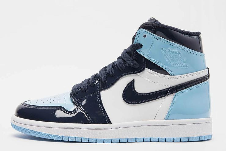 "Air Jordan 1 Patent Leather ""UNC"" Womens"