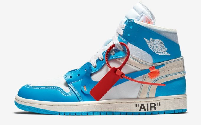 "Air Jordan Off-White  ""UNC"""