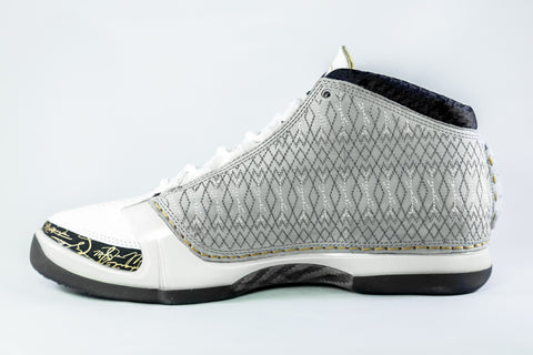 Air Jordan 23 White/Grey/Gold